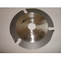 Disco de radial Speed Wood 115mm corte madera - placa