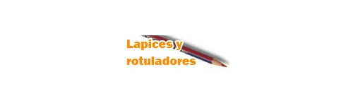 Lapices y rotuladores